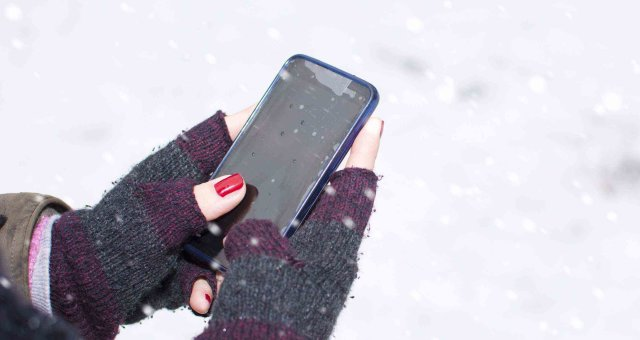 iphone and cold