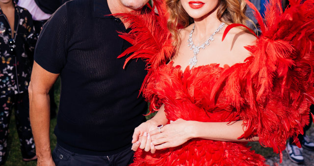 OM and Stefano Gabbana