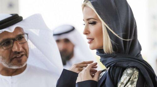Иванка Трамп восхитила золотыми нарядами в Арабских Эмиратах: как выглядела любимая дочь американского президента (фото)