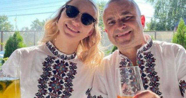 Виктор Павлик, Екатерина Репяхова, крещение сына