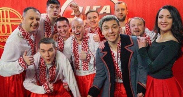 Луганская сборная, лига смеха, фото, президент, зеленский
