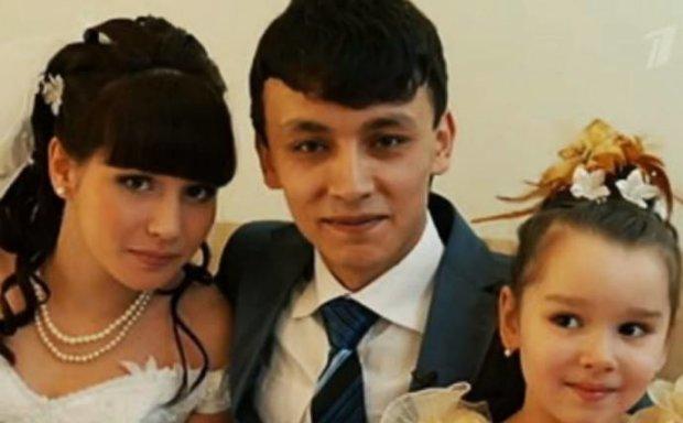 Свадьба молодой пары