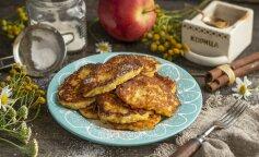 Яблонные драники: идеально подходят для здорового питания