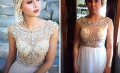 Самые неудачные выпускные платья, купленные через интернет (фото)