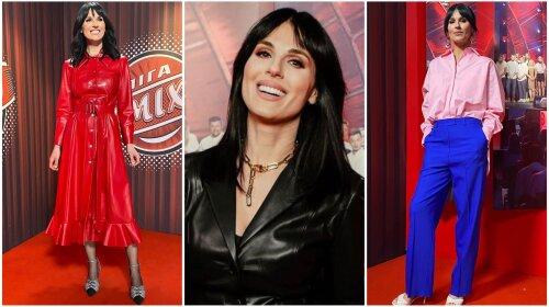 Від яскравого костюма до шкіряної сукні: Маша Єфросиніна показала п'ять універсальних образів - використовувала всі тренди 2021 року (фото)