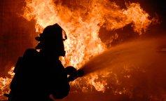 Небо стало черным: в Киеве произошел масштабный пожар