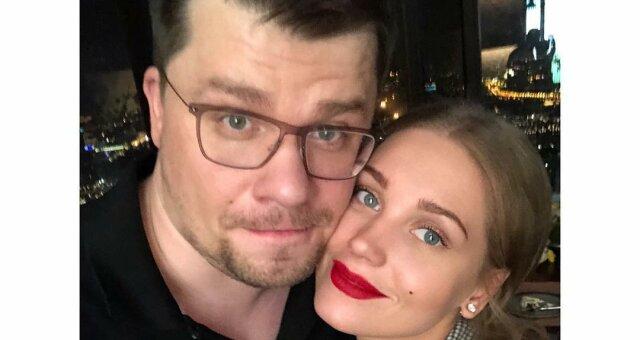 Кристина Асмус с супругом Гариком Харламовым