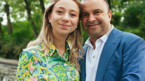 Віктор Павлік, співак, дочка