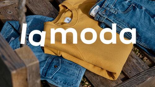 Крупнейший в Украине онлайн-магазин одежды Lamoda дарит покупателям скидку на вещи известных брендов