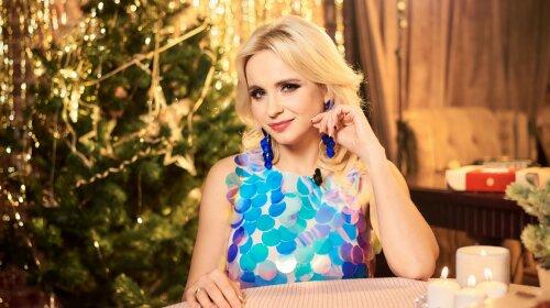 телеведуча, Лілія Ребрик, Новий рік, святковий стіл