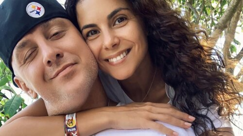 «Страстно поцеловала»: Настя Каменских в лучах заката показала страсть с супругом (ФОТО)