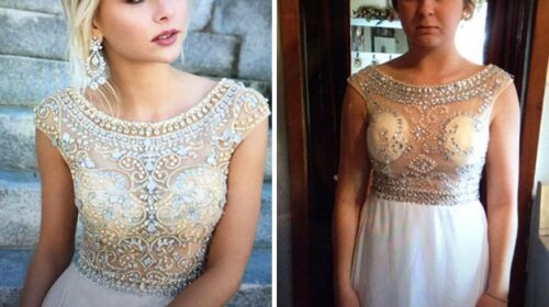 Найневдаліші випускні сукні, куплені через інтернет (фото)