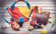 Как подобрать яркую обувь под наряд