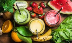 juice banana watermelon greens strawberry