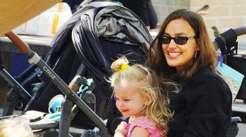 Батьки за розкладом: Ірина Шейк і Бредді Купер гуляли з дочкою по черзі в один день (ФОТО)