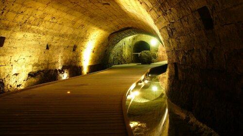 виявлені приховані тунелі тамплієрів