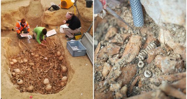 Во Франции археологи обнаружили склеп эпохи неолита
