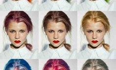приложение для окрашивания волос