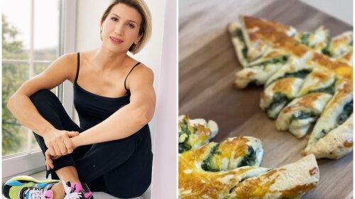 Новогодний рецепт от фитнес-тренера Аниты Луценко – оригинальный сырный пирог-елочка