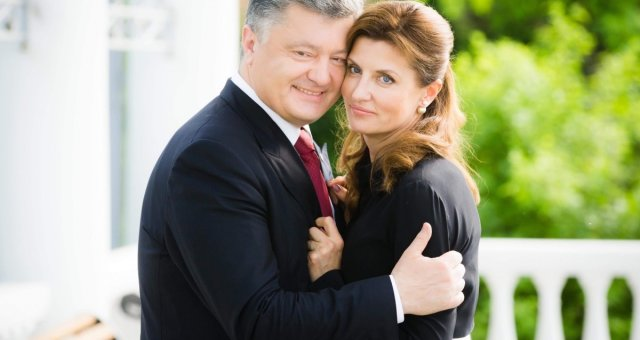 Марина Порошенко, Петр Порошенко, семья, фото