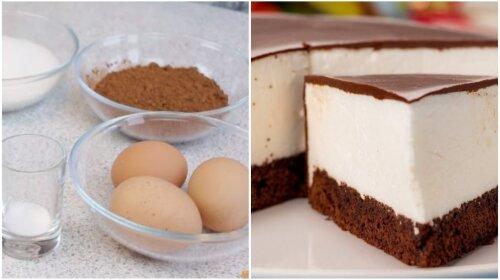Торт «Птичье молоко» - легкий, нежный и совсем неприхотливый в приготовлении