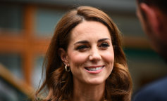 Catherine, Duchess of Cambridge Attends women's Final Day At Wimbledon