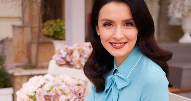 Валентина Хамайко, ведущая, наряд, новое фото