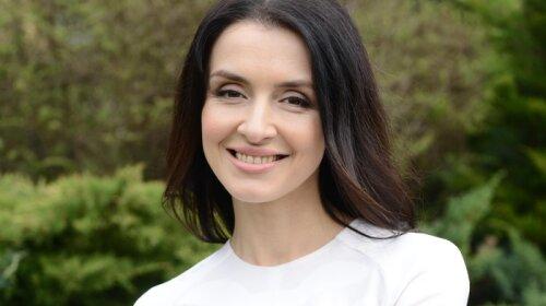 телеведущая, Валентина Хамайко, новый образ для эфира, стильный костюм