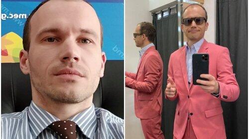 «Рожевий або зелений?»: міністр юстиції Денис Малюська оновлює гардероб – допоможи чиновнику вибрати модний костюм (фото)