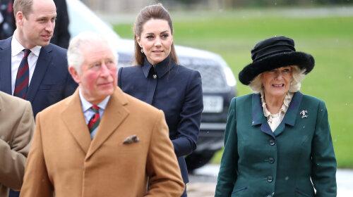 Кейт Міддлтон в мундирі, Камілла – в класичному пальто: несподіваний вихід двох королівських пар (фото)