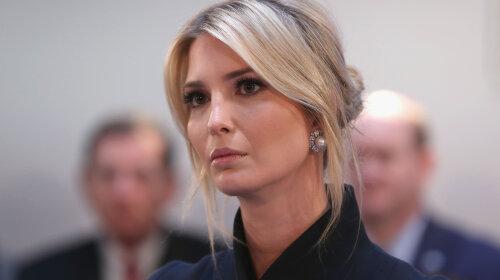 Иванка Трамп в розовом комбинезоне произвела настоящий фурор на встрече с предпринимателями в Белом доме