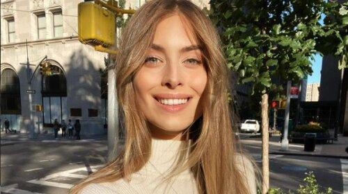 19-летняя внучка Софии Ротару в джинсах и парке поразила безупречным зимним аутфитом (фото)