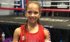 11-летняя девочка-боксер покажет свои таланты в популярном телешоу