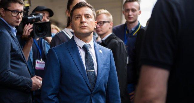Владимир Зеленский, кандидат в президенты Украины, выборы 2019