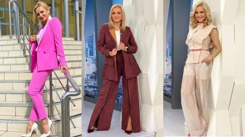 Кежуал-луки і класичні костюми: топ-7 стильних образів Лілії Ребрик