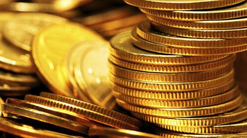 Heap of gold coins