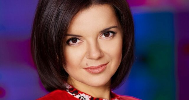Телеведущая Маричка Падалко
