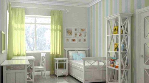 Какие цвета благоприятны для детской комнаты