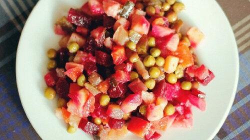 Классический рецепт винегрета и вариации на тему любимого салата