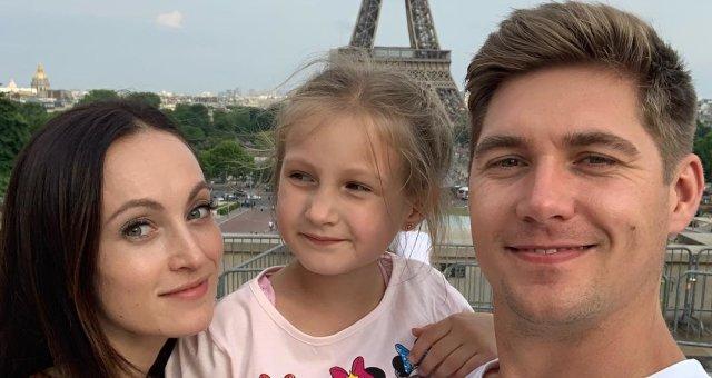 Владимир Остапчук, дочь, жена