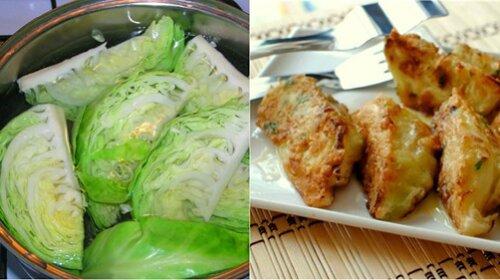 Закуска на скорую руку: что можно приготовить из капусты, яиц и панировочных сухарей