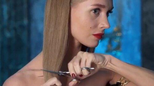 Гарік Харламов довів: Христина Асмус на очах у здивованого фотографа почала безжально стригти собі волосся (ФОТО)