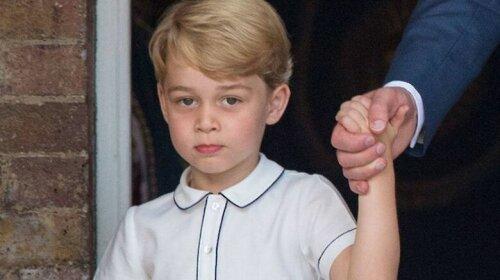 принц Джордж, попытка отравления, правнук Елизаветы II