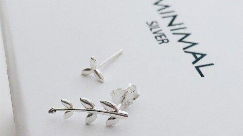 Срібні сережки: головні тренди осені 2019 від Minimal Silver