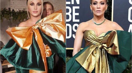 Камалія і Дженніфер Лопес з'явилися в однакових сукнях: чий образ виглядає ефектніше