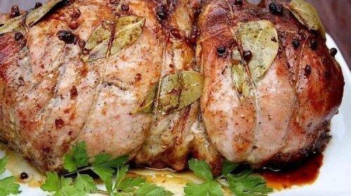 Новогоднее меню: постой рецепт буженины по-домашнему - потрясающе вкусное мясо