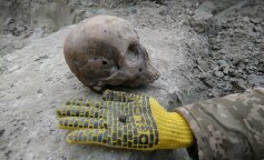 На Западной Украине археологи раскопали братскую могилу воинов УПА