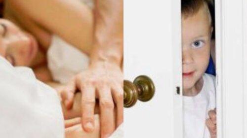 """Что делать, если ребенок """"застукал"""" вас во время интима: ответ сексолога"""