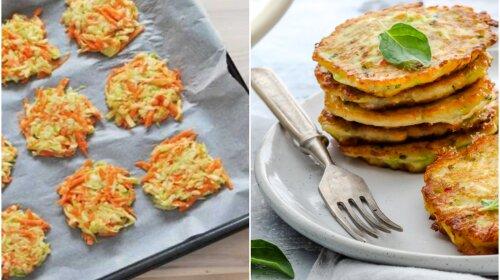 Швидкий вечерю з кабачків: дієтичне оладки, запечені в духовці
