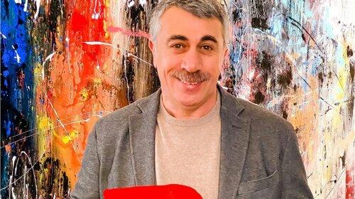 Доктор Комаровський показав, як виглядав в 20 років: вуса вічні
